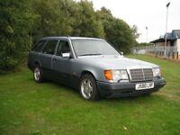Mercedes 300TE Diesel w124 w123 e30 240 940 740 Retro project