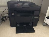 LaserJet Pro MFP M225dn Black and White Printer Copier Scanner Fax with Free Extra Toner Cartridge