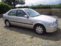 Rover 45 2.0 TD Diesel With Only 70966 Genuine Miles.