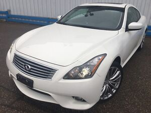 2012 Infiniti G37X  S Coupe AWD *LEATHER-SUNROOF*