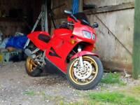 Honda vfr 750f motorbike