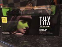 THX Total Hair Experts Big Hot Air Styler/Brush. New in box.