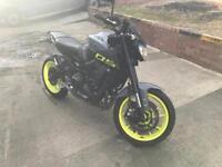 Yamaha MT09 ABS Night Fluro Grey