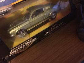 American muscle Mustang GT 1967 collectable