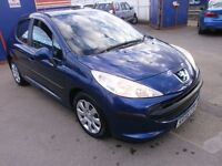 2006 PEUGEOT 207 1.4 5DOOR, HATCHBACK, LOW MILES, CLEAN CAR, DRIVES LIKE NEW, SERVICE HISTORY