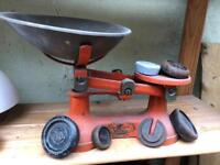 Old FJ Thornton & Co - 'The Viking' scales