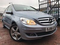*24 MTHS WARRANTY*12 MTHS MOT*ONLY 55,000 MILES*2006(56)MERCEDES B150 SPEICAL EDITION 5DR*LOVELY CAR