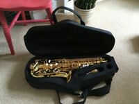 Trevor James Alpha Alto Saxophone for child or beginner very good condition