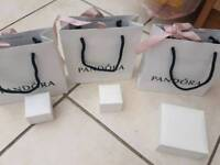 Pandora gift bags and boxes