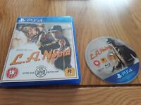 L.A. Noire PlayStation 4 game boxed complete