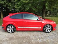 FORD FOCUS ST-3 RED Heated Leather Recaro, Built in Sat Nav, 6 Speed Manual