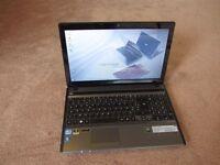 Gaming Acer 5755G laptop core i7 2670QM , 8gb ram , 1gb video GT540