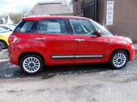 FIAT 500L 1.2 MULTIJET LOUNGE 5d 85 BHP (red) 2013