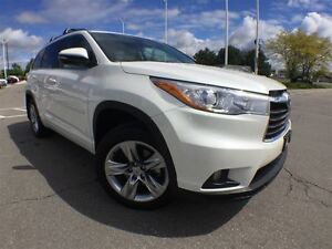 2015 Toyota Highlander Limited,Extended Warranty Inc!!