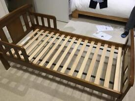 Solid wood toddler bed - John Lewis