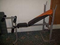 Herculean Folding Weight Bench ID 116/1/18