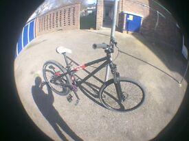 B-twin jump bike with kona frame