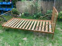 Single bed frame (delivery available)