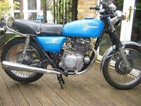 1977 KAWASAKI 200 SINGLE CYLINDER CLASSIC.