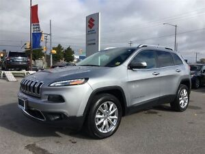 2014 Jeep Cherokee Limited 4X4 ~Panoramic Roof ~Backup Camera ~H