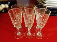 6x sherry / porto glasses