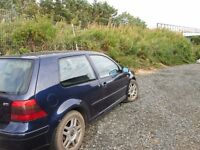 VW GOLF MK4 GTI TURBO-SPARES OR REPAIRS