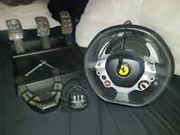 Thrustmaster TX Racing Wheel + T3PA Pedals *BOXED*