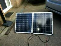 80w solar panel charger campervan motorhome caravan camping