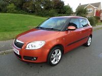 Skoda Fabia 3 105hp S/A auto Autumn Gold/solar black Mot 2017 FDSH 72000 mls books/keys 1 owner Mint