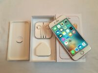 iPhone 6S 64GB Rose Gold brand new in box with Apple warranty and proof of receipt all accessories