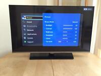 Samsung 40 inch LCD TV with Freeview HD