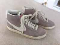 Ladies Nike high top trainers, size 6