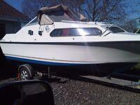 SHETLAND 570 CABIN CRUISER/FISHING BOAT