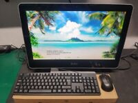6th gen i5 + 16gb ddr4 + 256gb ssd wifi very quick all in one pc