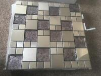 Mosaic tiles feature/ boarder