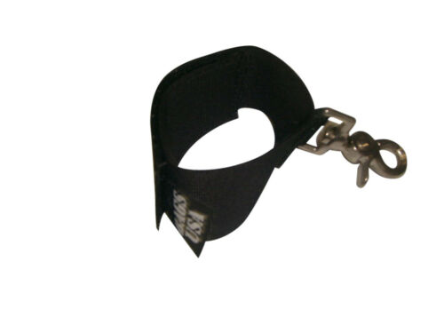 Glove strap holder FIREFIGHTER glove holder HVY trigger snap hook Made in USA.