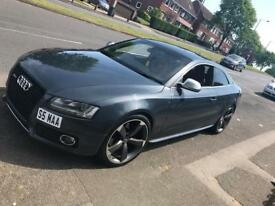 Stylish S5 AUDI with private plate