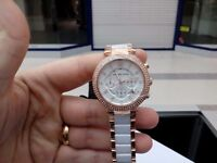 Brand new in box and still has tags on Michael Kors watch
