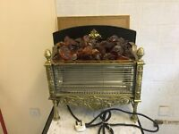 Vintage electric fire