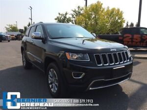 2016 Jeep Grand Cherokee Limited **TOIT, CAMERA, CUIR, XM + WOW*
