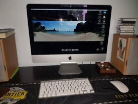 """iMac 21.5"""", 16gb ram, 1TB HD, Late 2013 model with Logic software and other music plug-ins"""