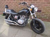 vulcan 125 running project motorbike spares or repairs