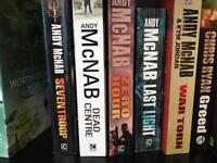 Military fiction books
