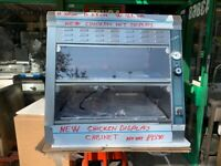 NEW CHICKEN COBOL DISPLAY CABINET FAST FOOD CATERING COMMERCIAL KITCHEN BBQ SHOP