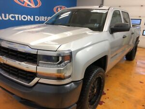 "2017 Chevrolet Silverado 1500 LS 4X4/ CREW/ NEW 20"" TIRES AND..."