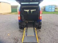 FIAT DOBLO 1.3 DIESEL DISABLED WHEELCHAIR ADAPTED WAV MPV 5 SEAT ESTATE LOW MILEAGE 64K FSH PX