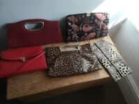 5 various handbags excellent condition