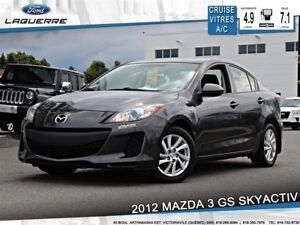 2012 Mazda MAZDA3 GS**SKYACTIV*A/C*CRUISE*BLUETOOTH**