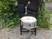 Original Premier 2000 Snare Drum and Pedal