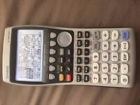 Casio FX -9860GII graphical calculator and USB Cable
